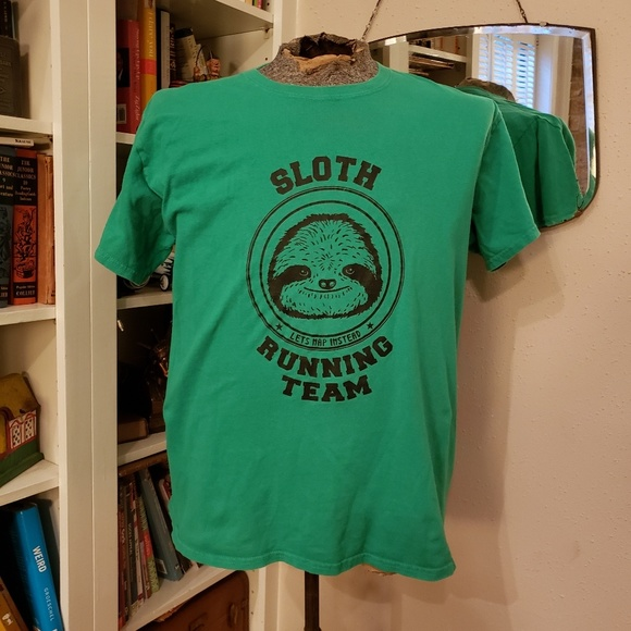 Other - Cool Kitschy Sloth T-shirt sz L